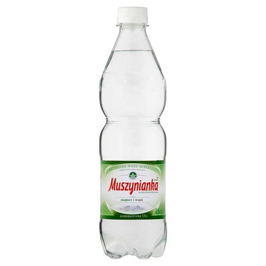 Muszynianka plus High Mineralized Low Sparkling Natural Mineral Water 0.6 L