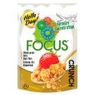 Hello Day! Focus crunch Chrupiące płatki z truskawkami 225 g