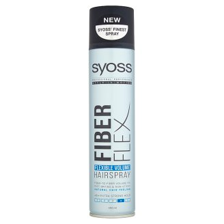 Syoss Fiberflex Flexible Volume Lakier do włosów 300 ml