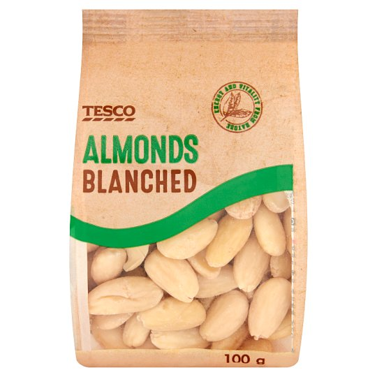 Tesco Blanched Almonds 100 g