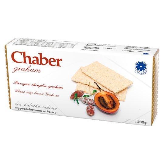 Chaber graham Crisp Bread Graham with No Added Sugar 200 g