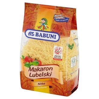 As-Babuni Makaron Lubelski nitka z kurkumą 400 g