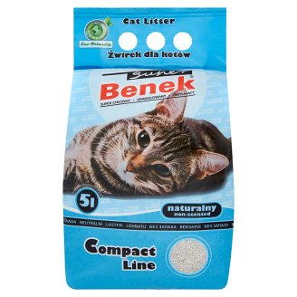 Super Benek Compact Line Bedding Material for Cats 5 L