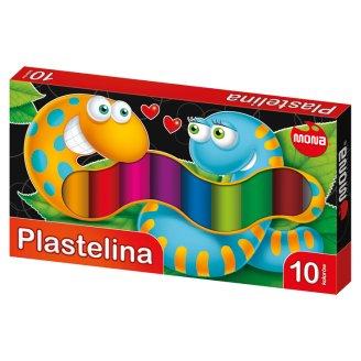 Mona Plastelina 10 kolorów