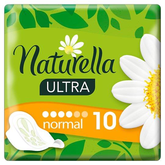 Naturella Sanitary Towels Ultra Normal Camomile, 10 Pads