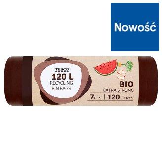 Tesco Bio Extra Strong Worki na śmieci 120 l 7 sztuk
