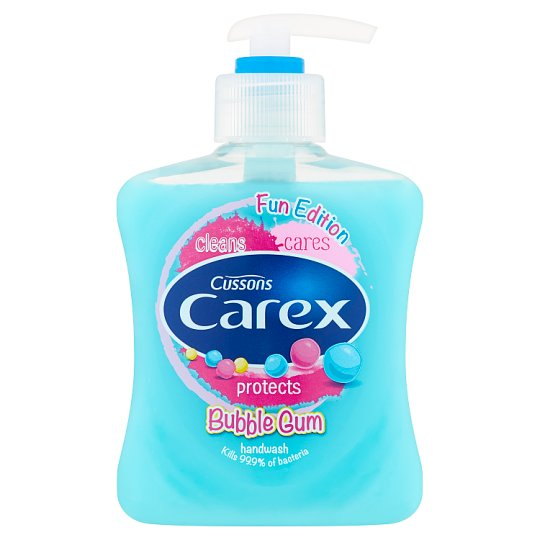 Carex Bubble Gum Antibacterial Hand Wash 250 ml