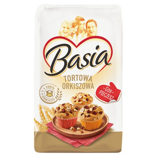 Basia Spelled Cake Flour 450 Type 900 g