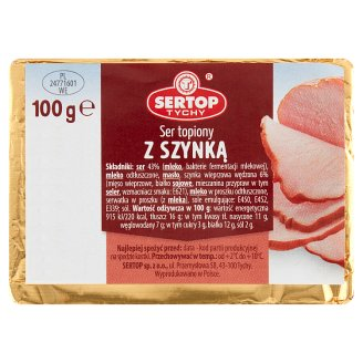 Sertop Tychy Creamy Spread Cheese with Ham 100 g