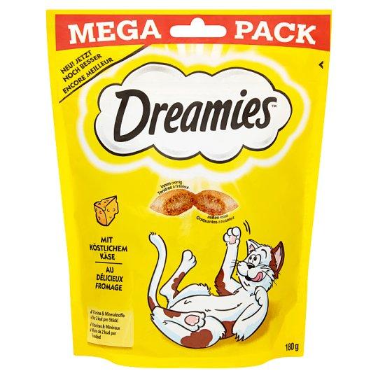 Dreamies Karma uzupełniająca dla kotów dorosłych i kociąt z serem 180 g