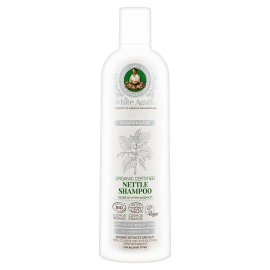 White Agafia Softness & Lustre Szampon pokrzywowy 280 ml