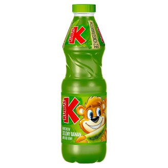 Kubuś Carrot Green Banana Apple Kiwi Drink 900 ml