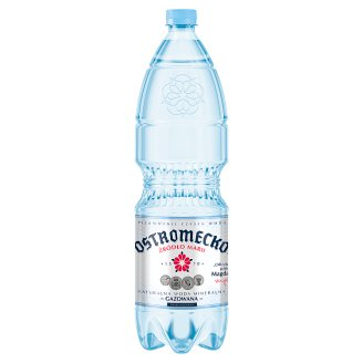 Ostromecko Carbonated Natural Mineral Water 1,5 L