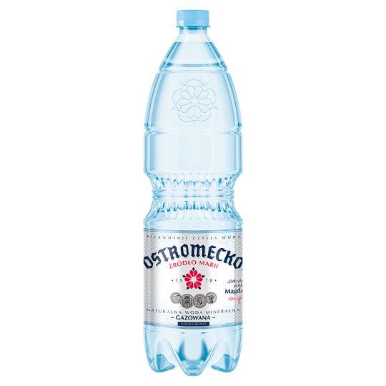 Ostromecko Naturalna woda mineralna gazowana 1,5 l