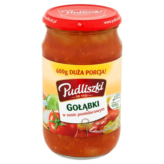 Pudliszki Stuffed Cabbage in Tomato Sauce 600 g