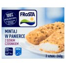 FRoSTA Pollock in Breadcrumbs with Wild Garlic 240 g (2 Pieces)