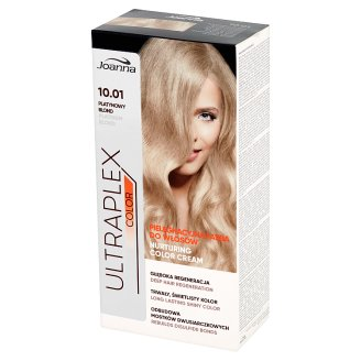 Joanna Ultrapex Color Pielęgnacyjna farba do włosów Platynowy blond 10.01