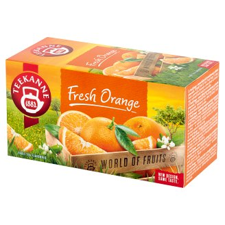 Teekanne World of Fruits Fresh Orange Flavoured Fruit Tea 45 g (20 x 2.25 g)