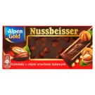 Alpen Gold Nussbeisser Bitter Chocolate with Whole Hazelnuts 100 g