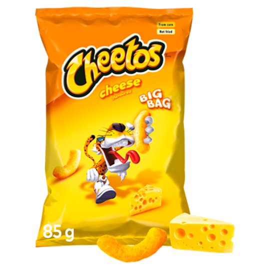 Cheetos Cheese Flavour Corn Snacks 85 g