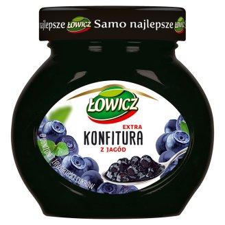 Łowicz Konfitura extra z jagód niskosłodzona 240 g