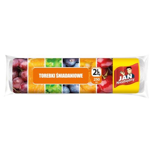 Jan Niezbędny Torebki śniadaniowe 2 l/kg 250 sztuk