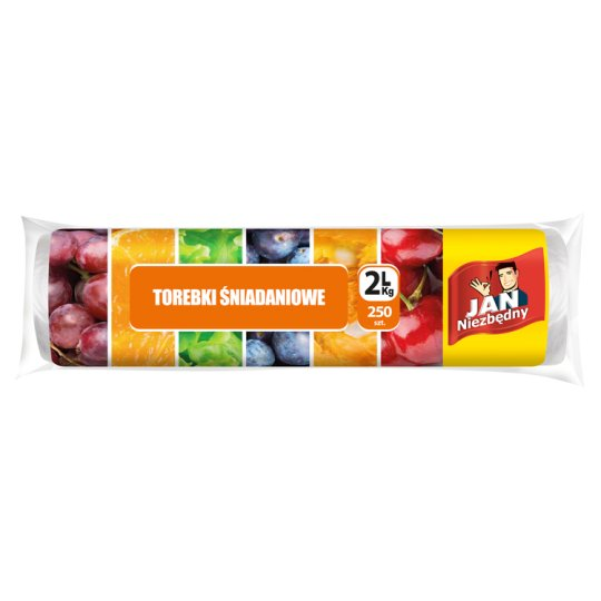 Jan Niezbędny Breakfast Bags 2 L/kg 250 Pieces