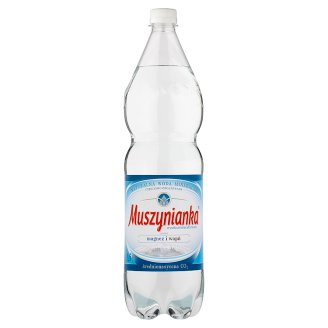 Muszynianka High Mineralized Medium Sparkling Natural Mineral Water 1.5 L