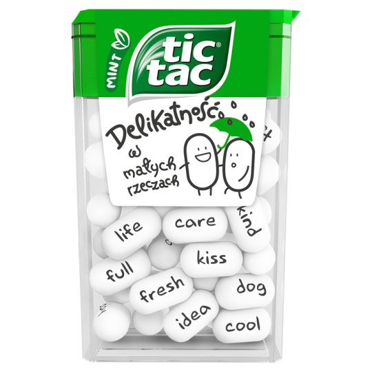 Tic Tac Mint Flavoured Sugar Coated Sweets 18 g