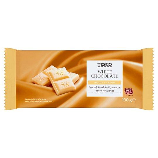 Tesco Biała czekolada 100 g