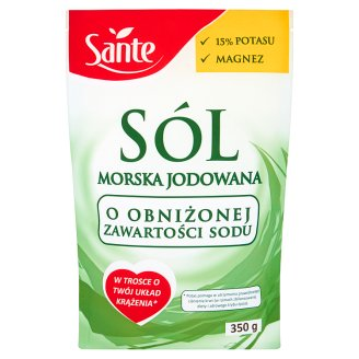 Sante Low Sodium Iodized Sea Salt 350 g
