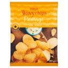 Tesco Chipsy ziemniaczane grubo krojone o smaku sera fromage 130 g