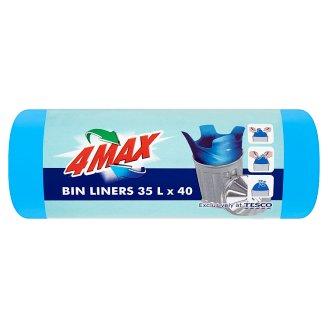 4MAX Bin Bags 35 L 40 Pieces