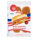 Nowakowski Wheat Hot Dog Rolls 240 g (4 Pieces)