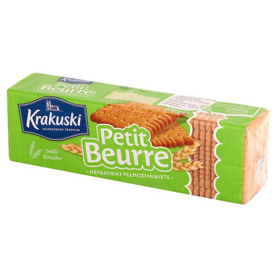 Krakuski Petit Beurre Whole Wheat Biscuits 220 g