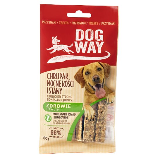 Dogway Health Cruncher Strong Bones and Joints Delicacy for Dog 60 g