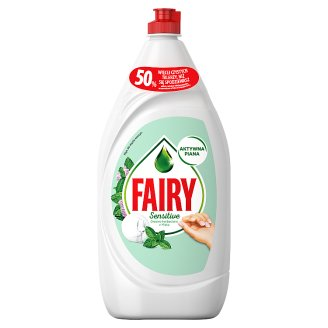 Fairy Sensitive Teatree & Mint Płyn do mycia naczyń 1350 ml