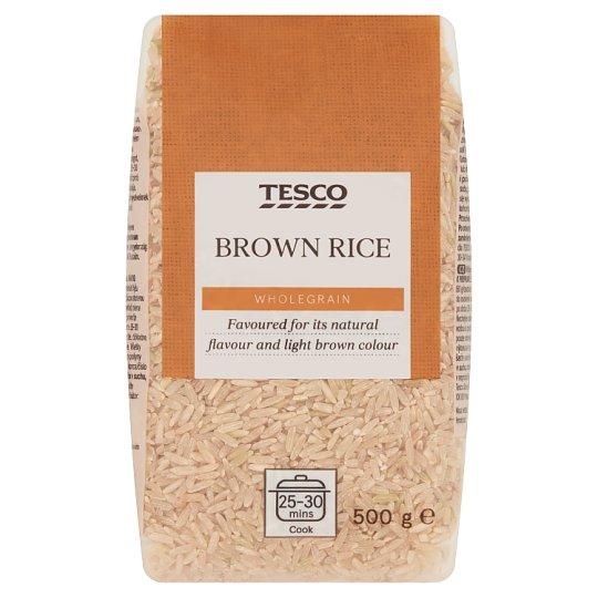 Tesco Brown Rice 500 g
