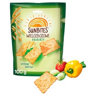 Sunbites Spring Vegetables Multigrain Crispy Snacks 100 g