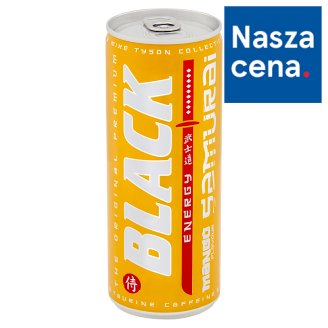 Black Samurai Mango Flavoured Energy Drink 250 ml