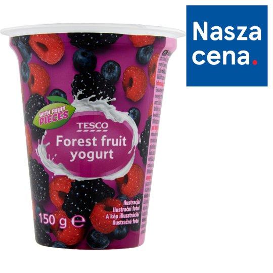 Tesco Jogurt z owocami leśnymi 150 g