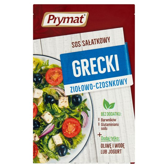 Prymat Greek Herbal and Garlic Salad Sauce 9 g