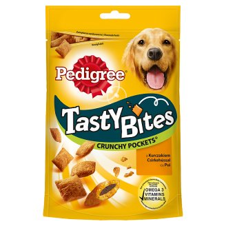 Pedigree Tasty Bites Supplementary Food for Adult Dogs with Chicken 95 g