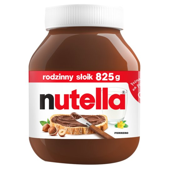 Nutella Spreadable Cream with Hazelnuts and Cocoa 825 g