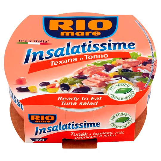 Rio Mare Insalatissime Texana e Tonno Ready to Eat Tuna Salad 160 g