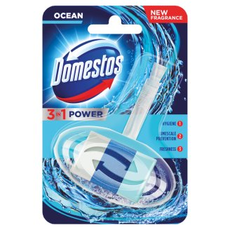 Domestos 3in1 Atlantic Toilet Block 40 g