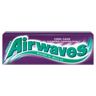 Airwaves Cool Cassis Sugarfree Chewing Gum 14 g (10 Pieces)