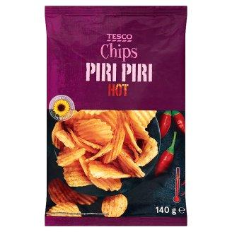 Tesco Hot Piri Piri Chips 140 g