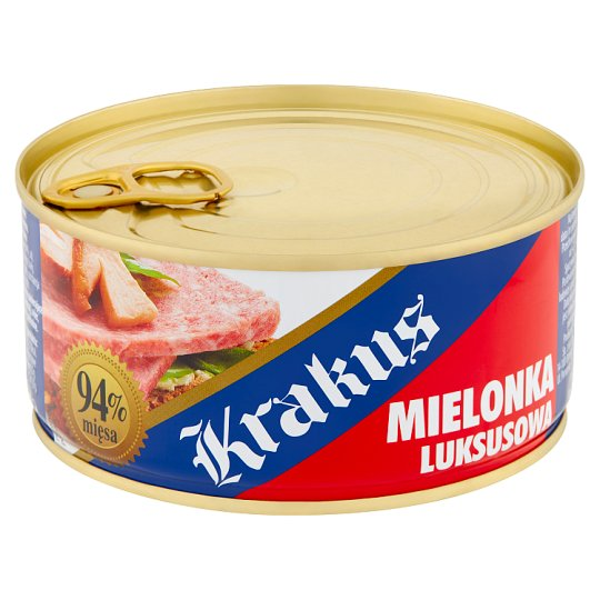 Krakus Luxury Pork Luncheon Preserved Meat 300 g