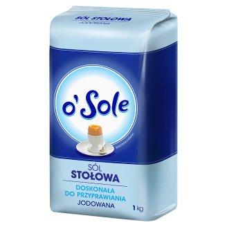 o'Sole Iodized Table Salt 1 kg